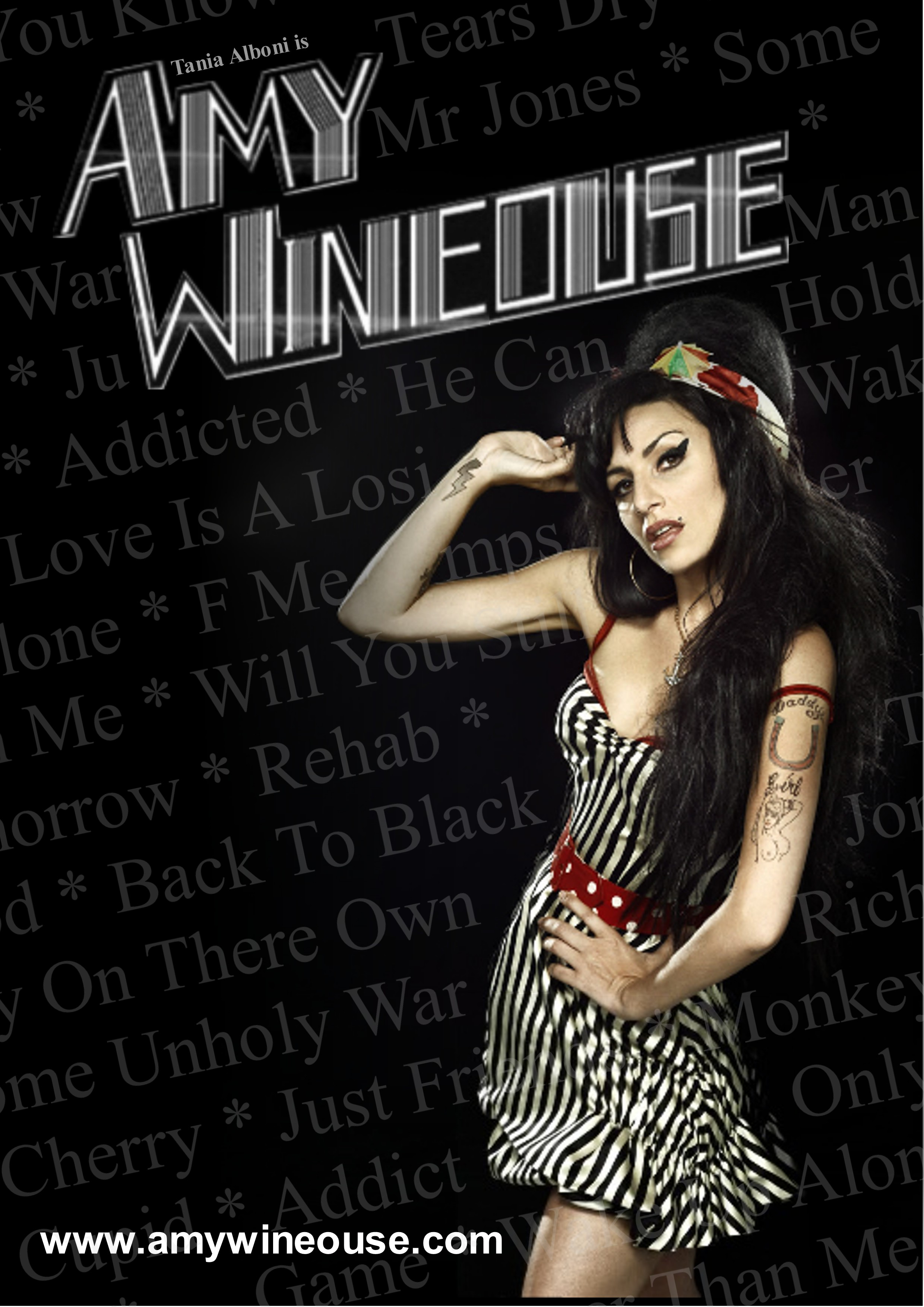 Tania as Amy Winehouse - Photo Album Amy Winehouse Live